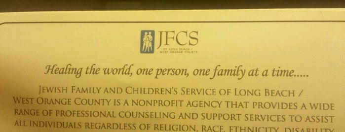 Jewish Family & Children Services is one of Lieux qui ont plu à Paco.