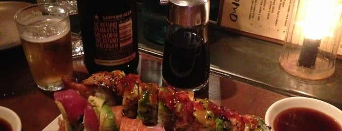 Domo Sushi is one of SF Bib Gourmand 2011.