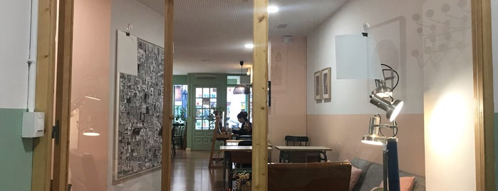 Coco COFFICE Coworking Café is one of Barcelona Coffee.