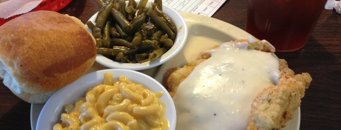 Dixie House Cafe is one of North Texas favs.