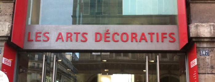 Les Arts Décoratifs is one of Paris.