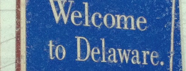 Delaware / Maryland State Border is one of JODY & MY PLACES IN MD REISTERSTOWN, OWINGS MILLS,.