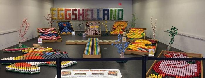 Eggshelland is one of สถานที่ที่ PJ ถูกใจ.