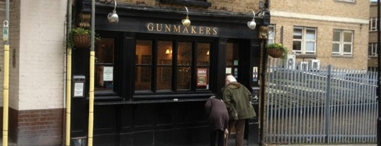 The Gunmakers is one of Top Craft Beers Bars: London, UK Edition.