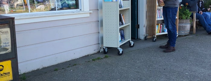 Point Reyes Books is one of Bookshops - US West.