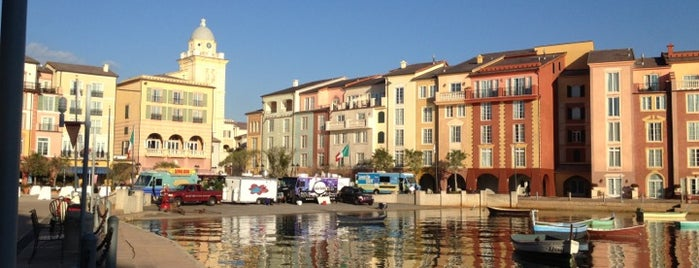 Loews Portofino Bay Hotel at Universal Orlando is one of สถานที่ที่ Donna ถูกใจ.