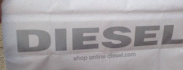 Diesel is one of Tiendas de moda en Madrid.