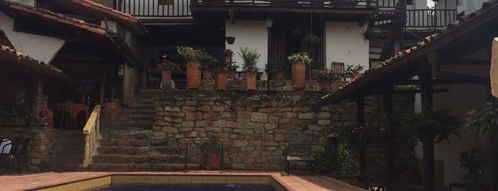 La Serrana Hostal  - Spa is one of Lieux qui ont plu à Liliana.