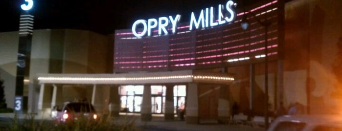 Opry Mills is one of Nashville.
