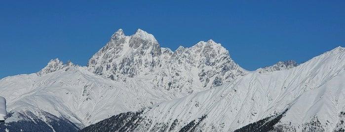 Tetnuldi Ski Resort, Ski Area is one of Posti che sono piaciuti a Lidia.