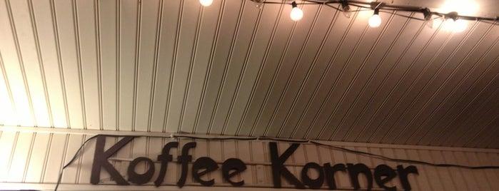 Koffee Korner is one of Tempat yang Disukai K..