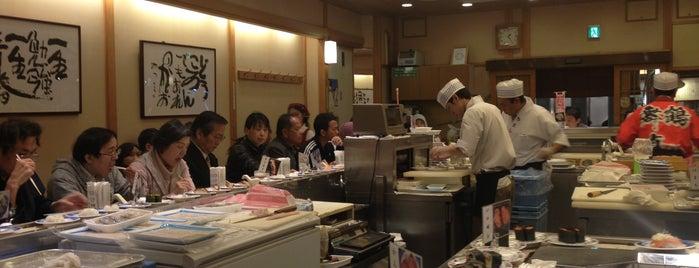 Sushi no Musashi is one of お薦めのレストラン / 気軽な寿司編.