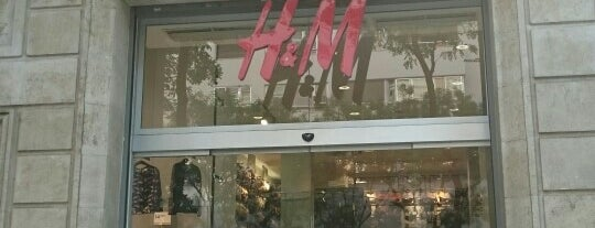 H&M is one of Claraさんのお気に入りスポット.