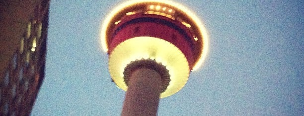 Calgary Tower is one of Canada.