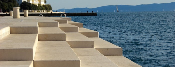 Morske Orgulje | Sea Organ is one of zadar.