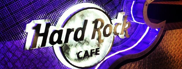 Hard Rock Cafe Santiago is one of Chile - A fazer.