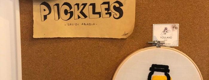 Pickles is one of Eastern b4.