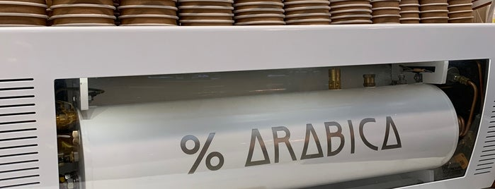 % Arabica is one of Paris.