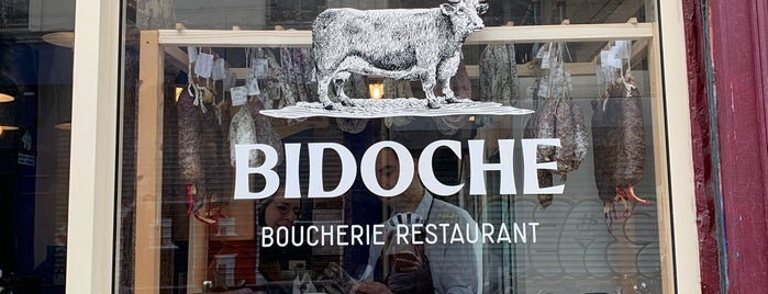 Bidoche is one of Paris.