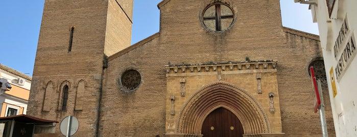 Iglesia Santa Marina is one of Cosas que ver en Sevilla.