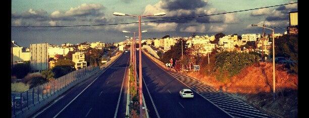 Highway Heraklon - Agios Nikolaos is one of Kreta.