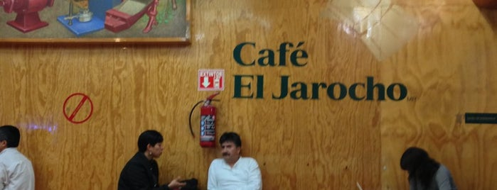 Café El Jarocho is one of Lugares favoritos de Andrea.