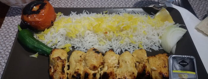 Darchin Iranian Restaurant is one of A Testar.