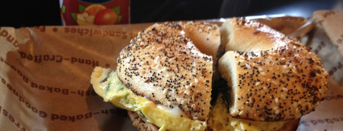 Einstein Bros Bagels is one of Best places to go in Houston.