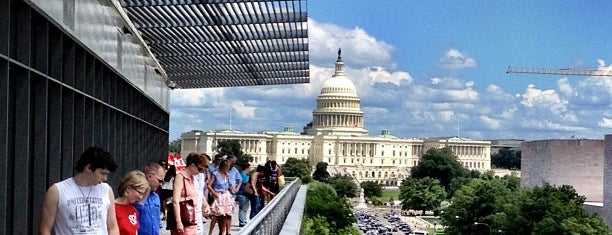 Newseum is one of 75 Geeky Places to Take Your Kids.