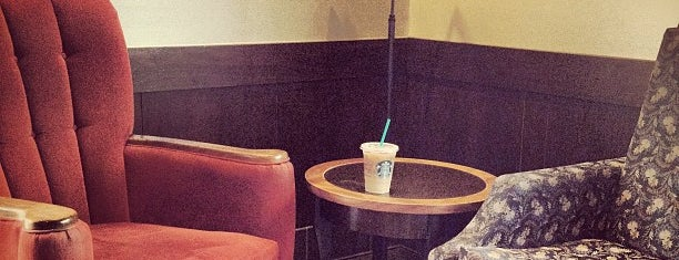 Starbucks is one of Orte, die Jennifer gefallen.