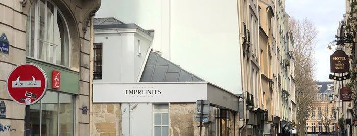 Empreintes is one of Paris.