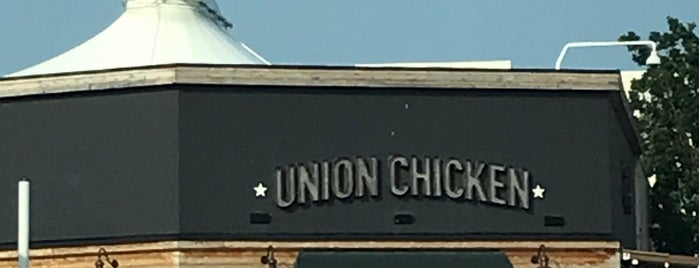 Union Chicken is one of Anil 님이 저장한 장소.