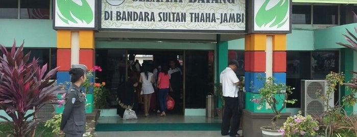 Bandara Sultan Thaha Syaifuddin (DJB) is one of Airports All Around The World.