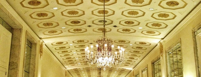 The Mayflower East Room is one of DC.
