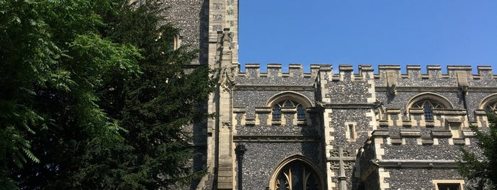 Croydon Minster is one of Thomasさんのお気に入りスポット.