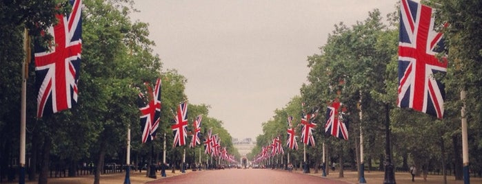 The Mall is one of Inglaterra.