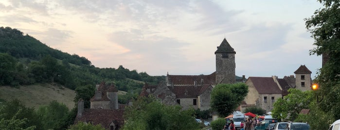 Autoire is one of Les plus beaux villages de France.