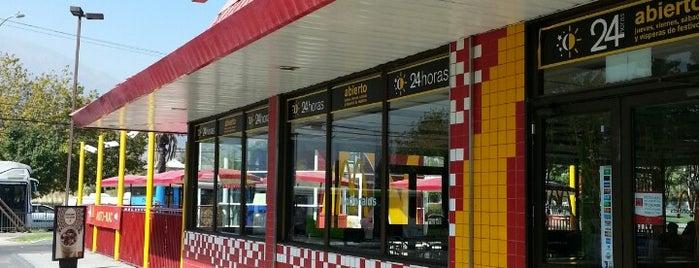 McDonald's is one of Orte, die Claudio gefallen.