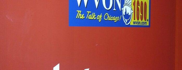 WVON is one of สถานที่ที่ Kim ถูกใจ.