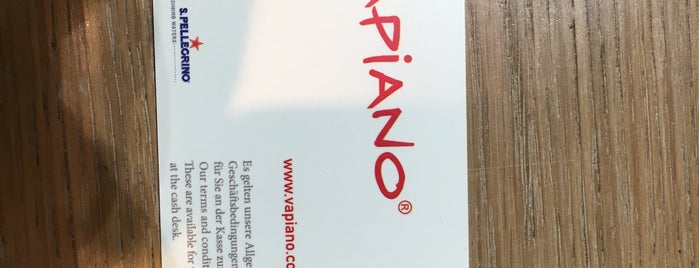 Vapiano is one of Stephania 님이 좋아한 장소.