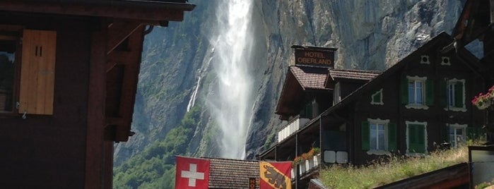 Staubbachfall is one of Locais salvos de Anna.