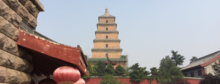 Big Wild Goose Pagoda is one of China.