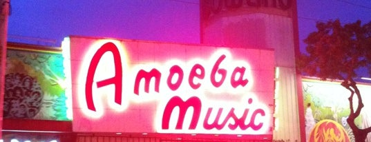 Amoeba San Francisco is one of Music, Music!.