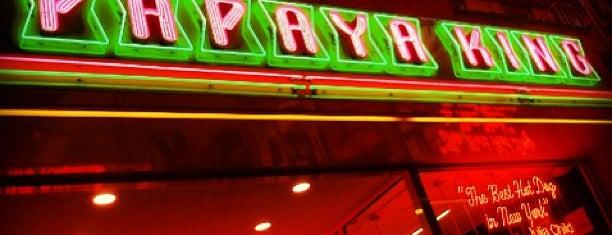 Papaya King is one of NYC EATS.