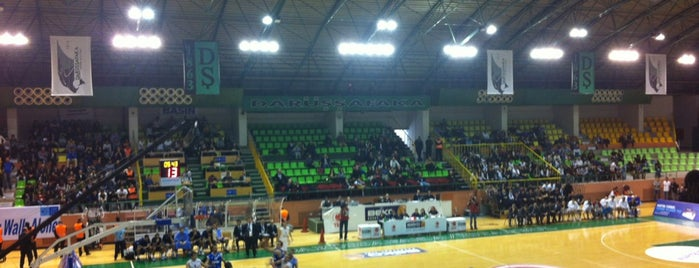 Ayhan Şahenk Spor Salonu is one of Lieux qui ont plu à Bora.