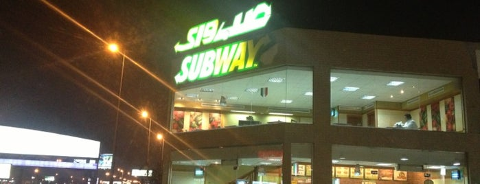 Subway is one of Lugares favoritos de Tawfik.