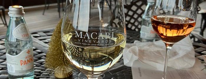 Macari Vineyards is one of long island.