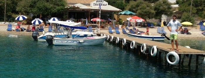 Taverna Agni is one of Corfu.
