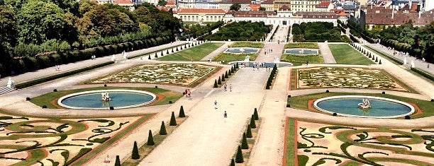 Schlossgarten Belvedere is one of Wien.