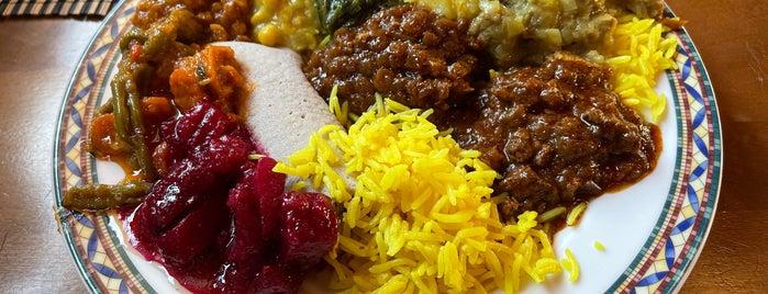 Addis Ethiopian Kitchen is one of Susanna 님이 좋아한 장소.